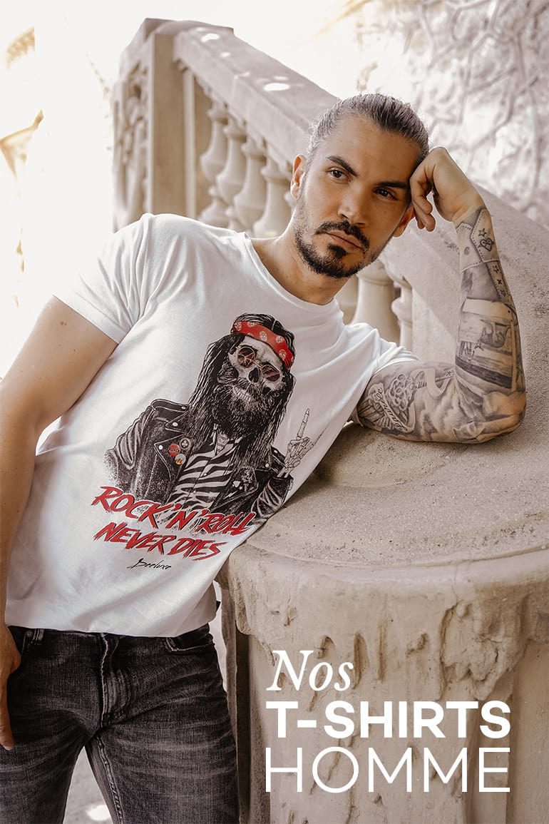 Nos T-shirts Homme
