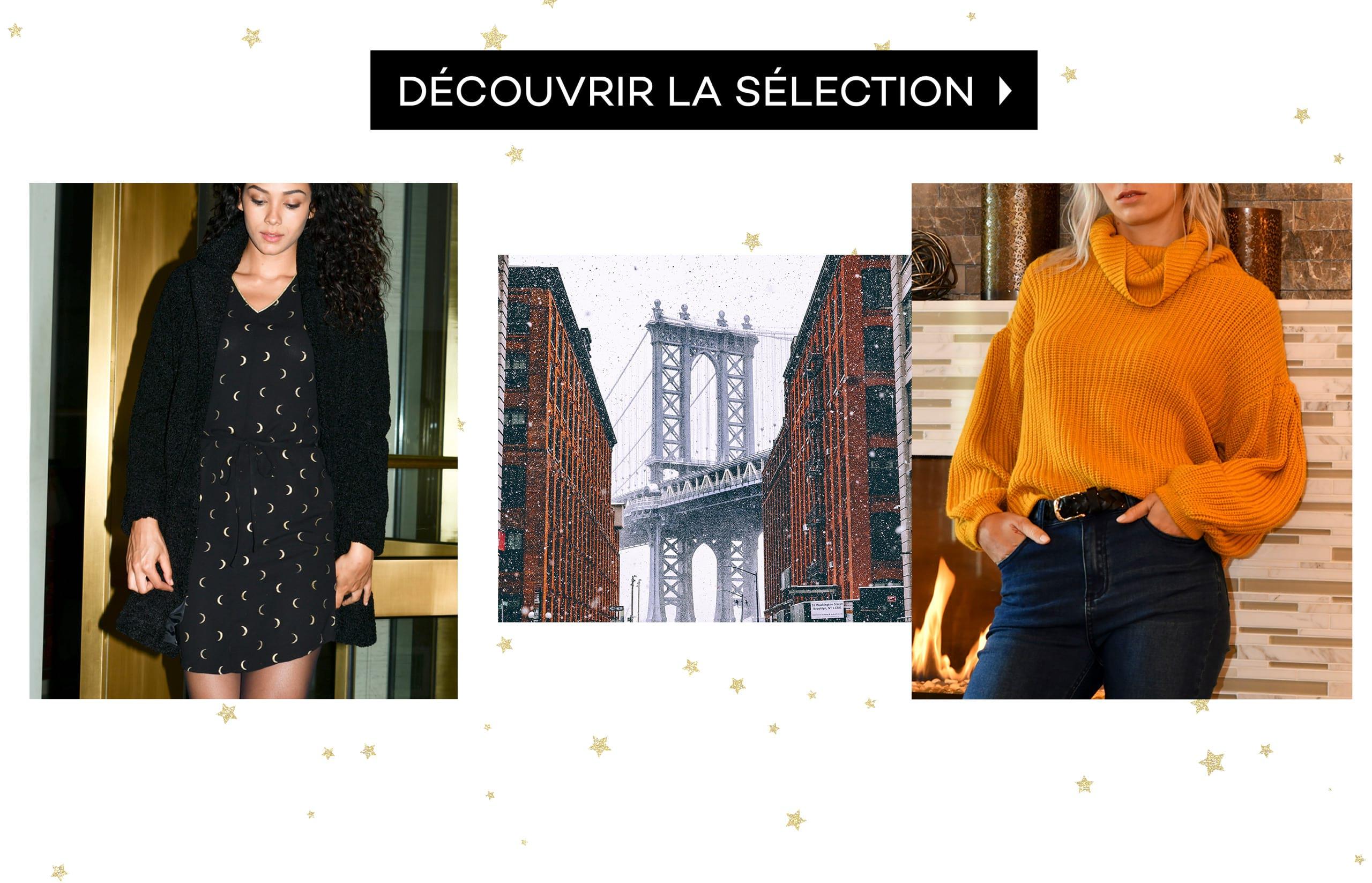 Sélection Boutique Noël Femme