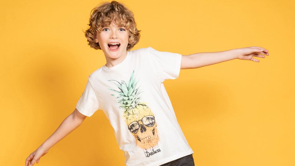 Découvrez nos T-shirts garçon